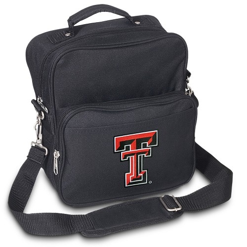 Texas Tech Small Utility Messenger Bag or Travel Bag