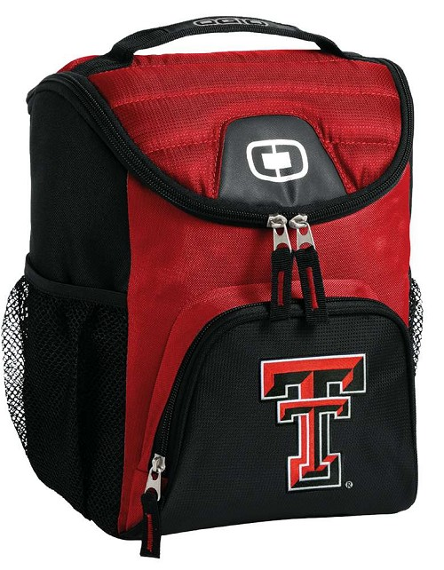 Texas Tech Lunch Bag Insulated Lunch Cooler Red