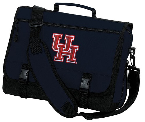 University of Houston Messenger Bag Navy