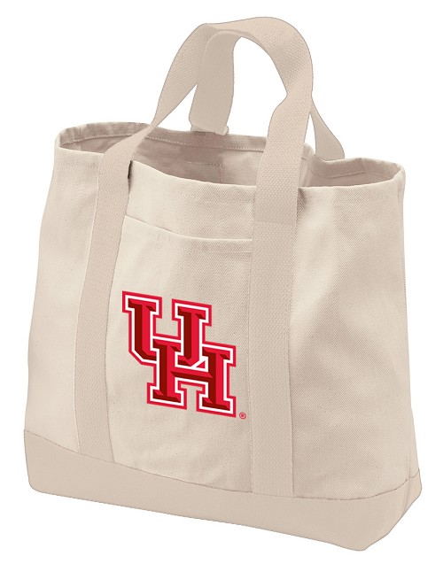 UH Tote Bags NATURAL CANVAS
