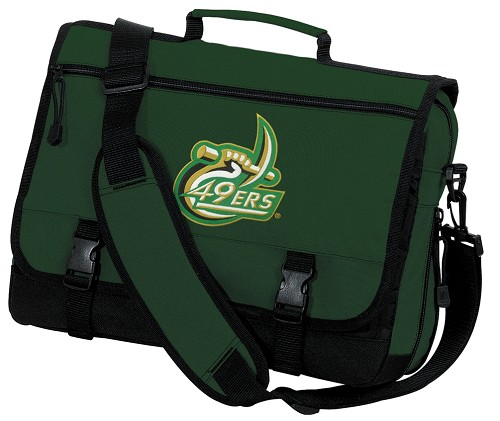 UNC Charlotte Messenger Bag Green