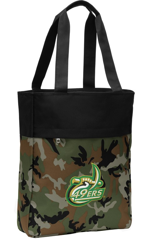 UNCC CarryAll Tote Bag Camo