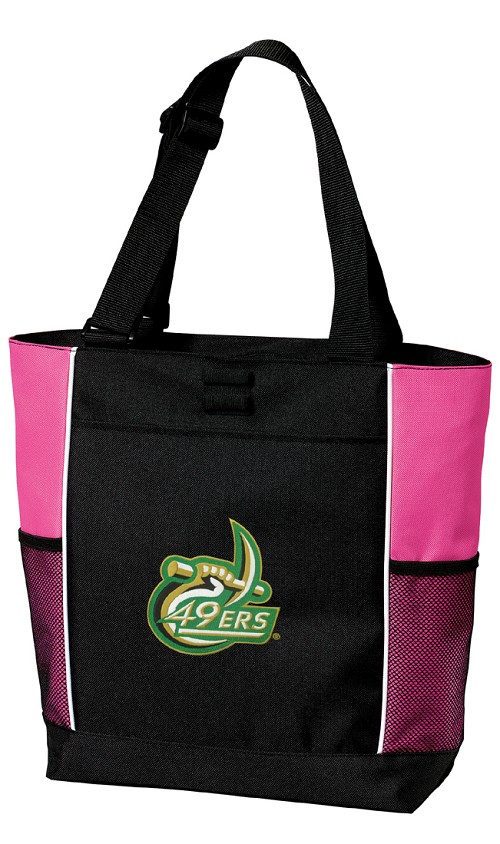 UNCC Neon Pink Tote Bag