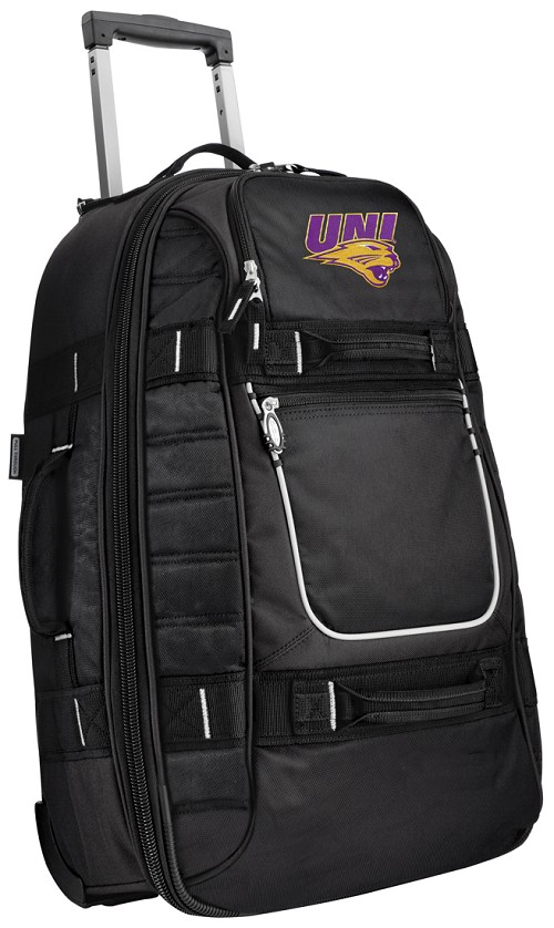 UNI University of Northern Iowa CarryOn Suitcase