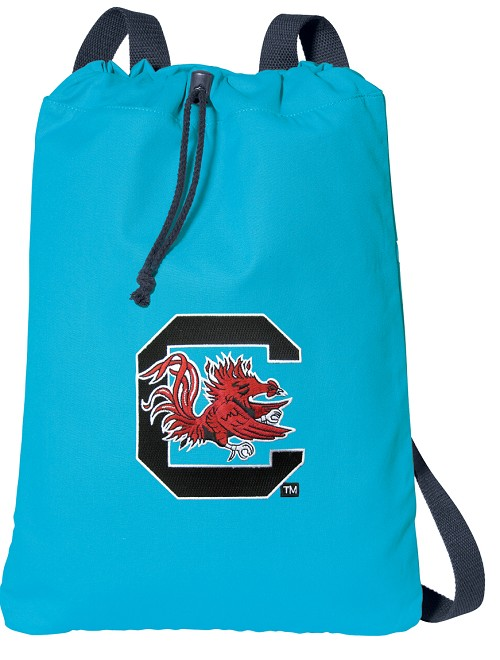 University of South Carolina Gamecocks Cotton Drawstring Bags