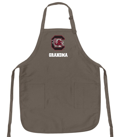 Official South Carolina Grandma Apron Tan