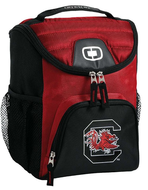 University of South Carolina Gamecocks Lunch Bag Insulated Lunch Cooler Red