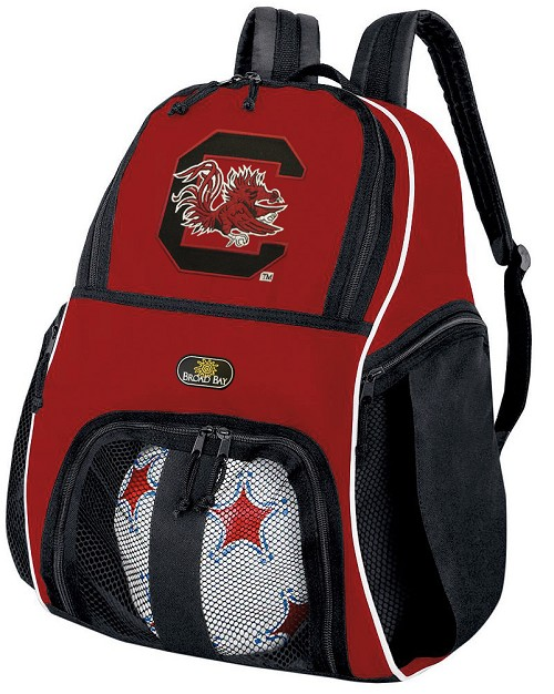 South Carolina Gamecocks Soccer Backpack or University of South Carolina Volleyball Practice Bag Red Boys or Girls