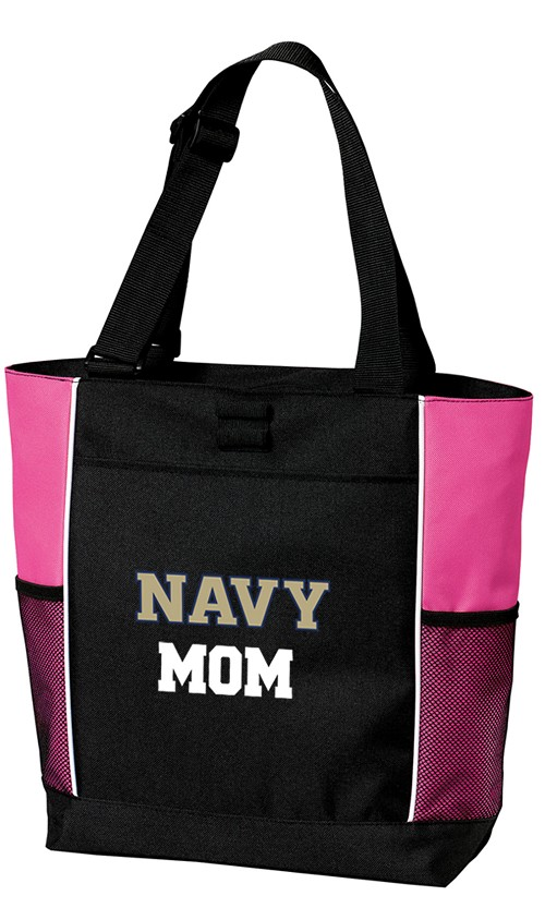 Naval Academy MOM Tote Bag Pink
