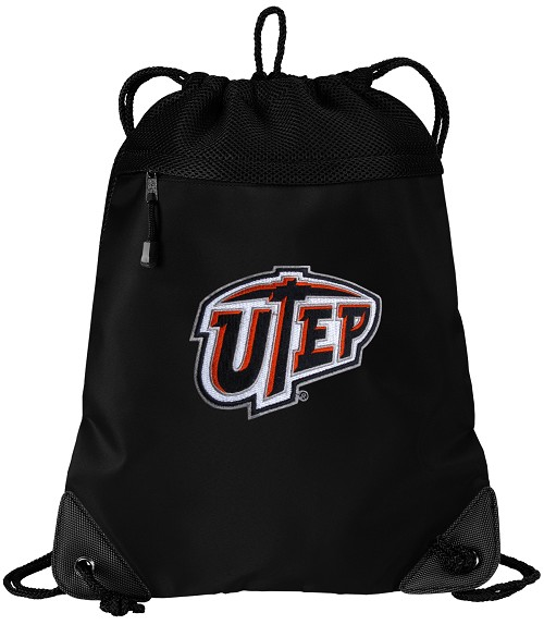 UTEP Miners Drawstring Bag Backpack