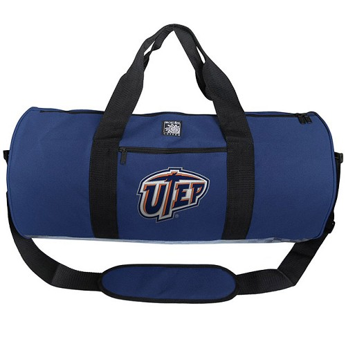 UTEP Miners Duffel Bag Official NCAA College Logo