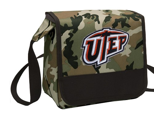UTEP Miners Lunch Bag Cooler Camo