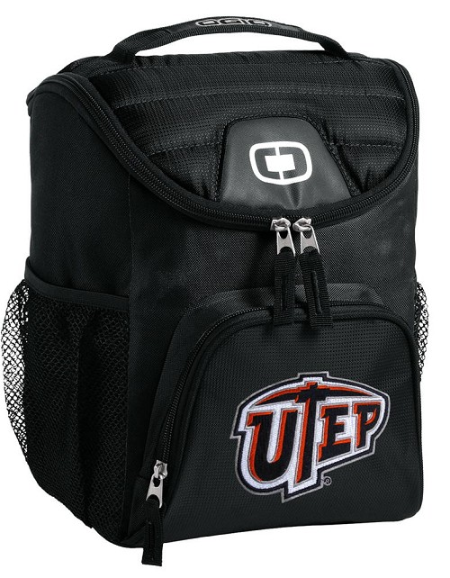 UTEP Miners Lunch Bag Insulated Lunch Cooler Black