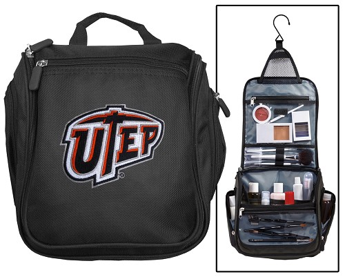 UTEP Miners Cosmetic Bag or NCAA Mens Shaving Kit - Travel Bag