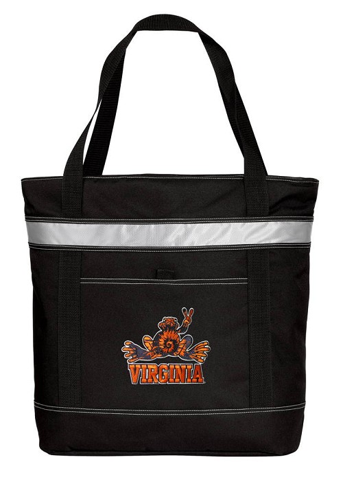 UVA Peace Frog Insulated Tote Bag