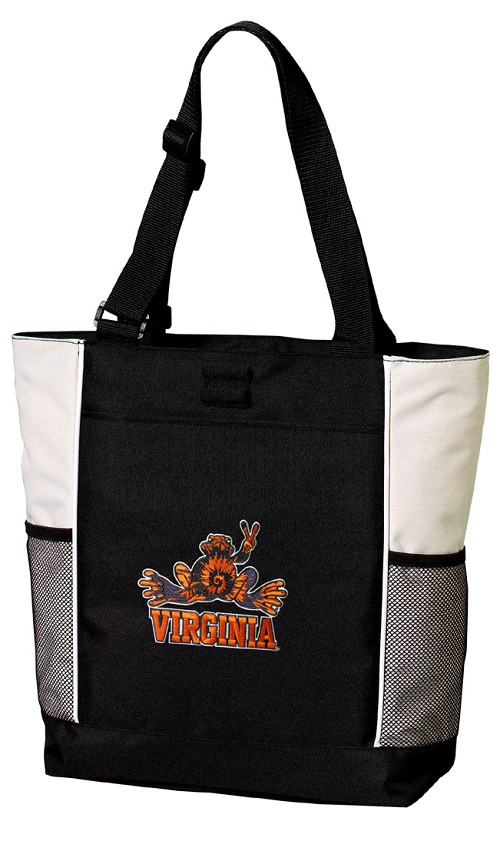 UVA Peace Frog Tote Bag