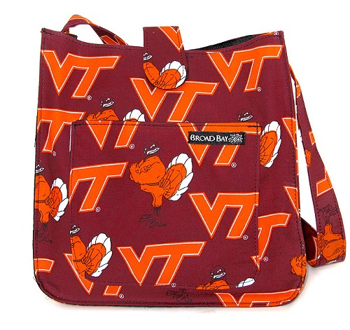 Virginia Tech Hokies Shoulder Bags Purses