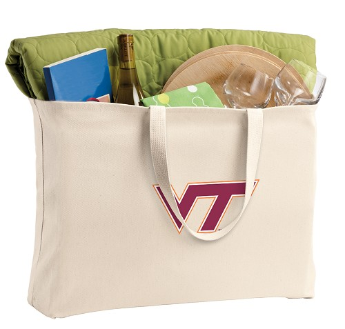 Virginia Tech Jumbo Tote Bag