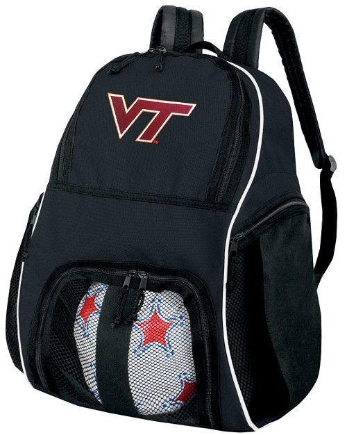 Virginia Tech Hokies Soccer Backpack or Virginia Tech Volleyball Bag For Boys or Girls