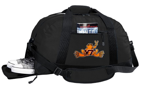 Virginia Tech Peace Frog Duffel Bag