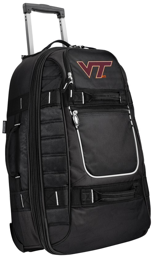Virginia Tech Hokies CarryOn Suitcase