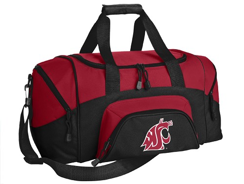 Washington State Small Duffle Bag Red