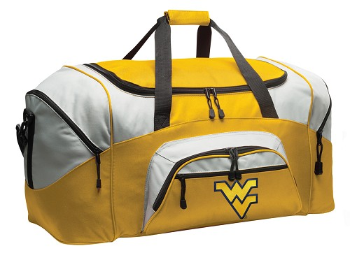 West Virginia Duffle Bag Yellow