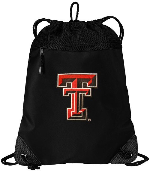 Texas Tech University Drawstring Bag Backpack